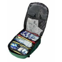 AED Backpack P30 Outside Inside