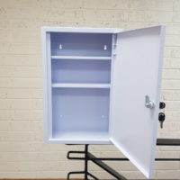 First Aid Cabinet Open