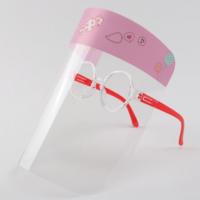 Girls Visor with Glasses