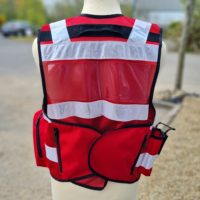 Tact Red ONLY Vest Rear