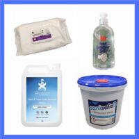 Gels- Sanitisers & Wipes