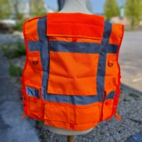 Tac Vest Orange Special Back